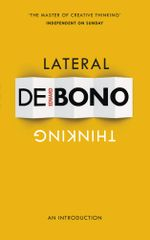 Lateral Thinking : An Introduction - Edward de Bono