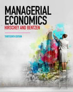 Managerial Economics - Mark Hirschey