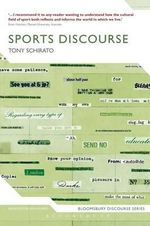 Sports Discourse - Tony Schirato