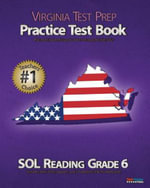 Virginia Test Prep Practice Test Book Sol Reading Grade 6 - Test Master Press Virginia