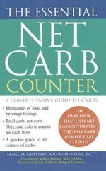 Essential Net Carb Counter - PH D Maggie Greenwood-Robinson