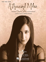 A Thousand Miles (Sheet Music) - Vanessa Carlton
