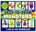 Easy-To-Draw Monsters : A Step-By-Step Drawing Book - Mattia Cerato