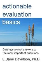 Actionable Evaluation Basics : Getting Succinct Answers to the Most Important Questions [Minibook] - William Shakespeare