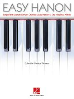 Easy Hanon : Simplified Exercises from Charles-Louis Hanon's the Virtuoso Pianist