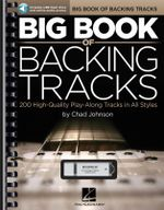 Johnson Chad Big Book of Backing Tracks Gtr Bk/Usb - Chad Johnson