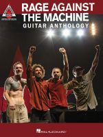 Rage Against the Machine Guitar Anthology Guitar Recorded Ver Tab Bk