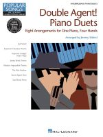 Double Agent! Piano Duets : Hal Leonard Student Piano Library Popular Songs Series Intermediate 1 Piano, 4 Hands - Hal Leonard Publishing Corporation