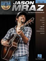 Guitar Play Along Volume 178 Mraz Jason Gtr Bk/CD : Guitar Play-Along Volume 178