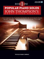 Popular Piano Solos - John Thompson's Adult Piano Course (Book 1) : Elementary Level - John Thompson