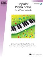 Popular Piano Solos - Level 2 : Hal Leonard Student Piano Library - Hal Leonard Publishing Corporation