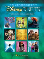 Contemporary Disney Duets Intermediate to Advanced : Intermediate to Advanced Level - Hal Leonard Publishing Corporation