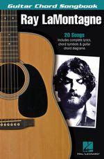 Lamontagne Ray Guitar Chord Songbook Gtr Bk