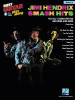 Easy Guitar Play Along Volume 14 Hendrix Jimi Smash Hits Tab Bk/Audio