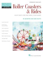 Roller Coasters & Rides : Eight Duets for 1 Piano, 4 Hands Composer Showcase Intermediate Piano Duets - Jennifer Watts