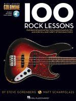Bass Lesson Goldmine 100 Rock Lessons Bgtr Tab Bk/Audio Online - Hal Leonard Publishing Corporation