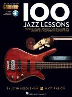 Bass Lesson Goldmine : 100 Jazz Lessons (Book/Online Audio) - Hal Leonard Publishing Corporation