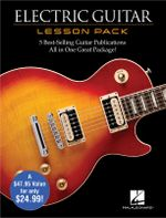 Electric Guitar Lesson Pack 4 Books & 1 DVD Gtr Bk - Hal Leonard Publishing Corporation