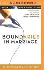 Boundaries in Marriage - Dr Henry Cloud