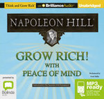 Grow Rich! With Peace Of Mind (MP3) - Napoleon Hill