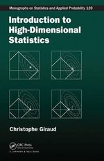 Introduction to High-Dimensional Statistics - Christophe Giraud