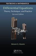 Differential Equations : Theory, Technique and Practice, Second Edition - Steven G. Krantz