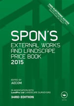Spon's External Works and Landscape Price Book 2015