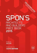 Spon's Architect's and Builders' Price Book 2015