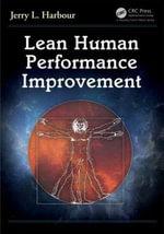 Lean Human Performance Improvement - Jerry L. Harbour