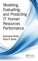 Modeling, Evaluating, and Predicting it Human Resources Performance - Konstantina Richter