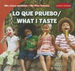 Lo Que Pruebo/What I Taste - Alex Appleby