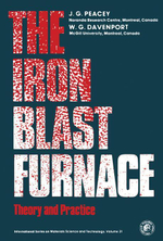 The Iron Blast Furnace : Theory and Practice - J. G. Peacey