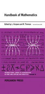 Handbook of Mathematics : International Series of Monographs in Pure and Applied Mathematics