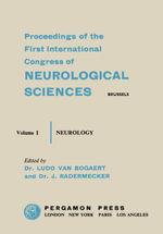 Sixth International Congress of Neurology : Brussels, 21-28 July 1957