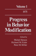 Progress in Behavior Modification : Volume 1