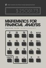 Mathematics for Financial Analysis - Michael Gartenberg