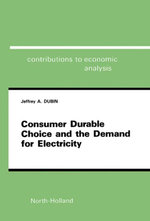 Consumer Durable Choice and the Demand for Electricity - J.A. Dubin