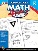 Common Core Math 4 Today, Grade K - Erin McCarthy