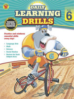 Daily Learning Drills, Grade 6 - Brighter Child