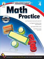 Math Practice, Grade 4 - Carson-Dellosa Publishing