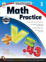 Math Practice, Grade 5 - Carson-Dellosa Publishing