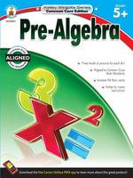 Pre-Algebra, Grades 5 - 12 - Carson-Dellosa Publishing