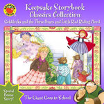 Keepsake Storybook Classics Collection Storybook : Goldilocks and the Three Bears and Little Red Riding Hood - Candice Ransom