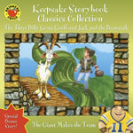 Keepsake Storybook Classics Collection Storybook : The Three Billy Goats Gruff and Jack and the Beanstalk - Carol Ottolenghi