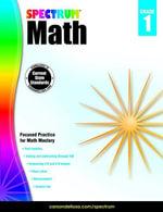 Spectrum Math Workbook, Grade 1 - Spectrum