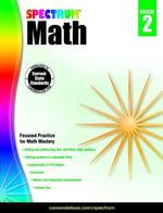 Spectrum Math Workbook, Grade 2 - Spectrum