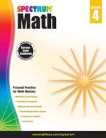 Spectrum Math Workbook, Grade 4 - Spectrum