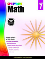 Spectrum Math Workbook, Grade 7 - Spectrum