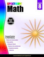 Spectrum Math Workbook, Grade 8 - Spectrum