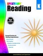 Spectrum Reading Workbook, Grade K - Spectrum